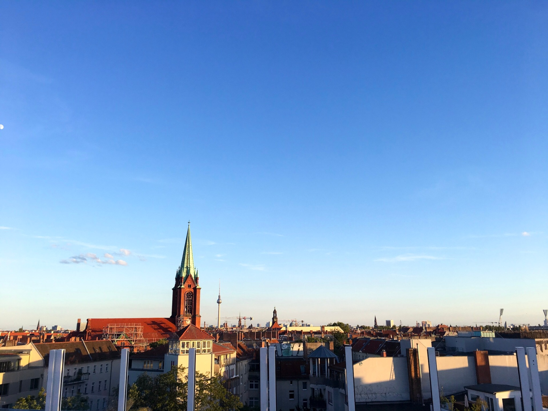 View from Deck 5 in Prenzlauer Berg, Berlin