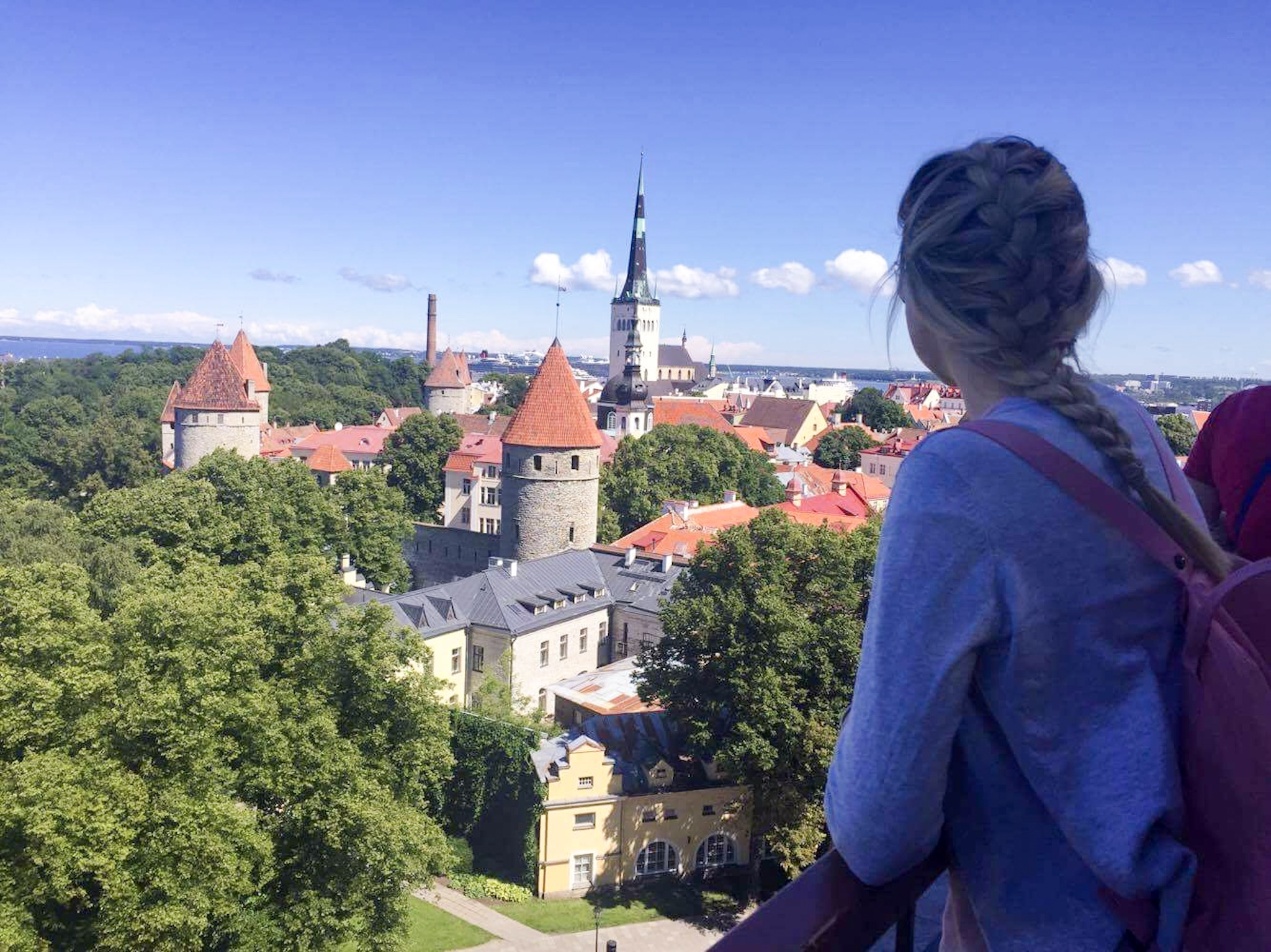 View in Tallinn, Estonia