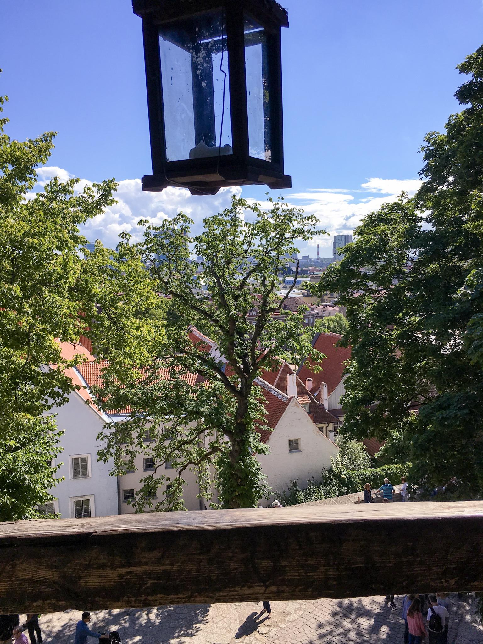 View from Cafe in Tallinn, Estonia
