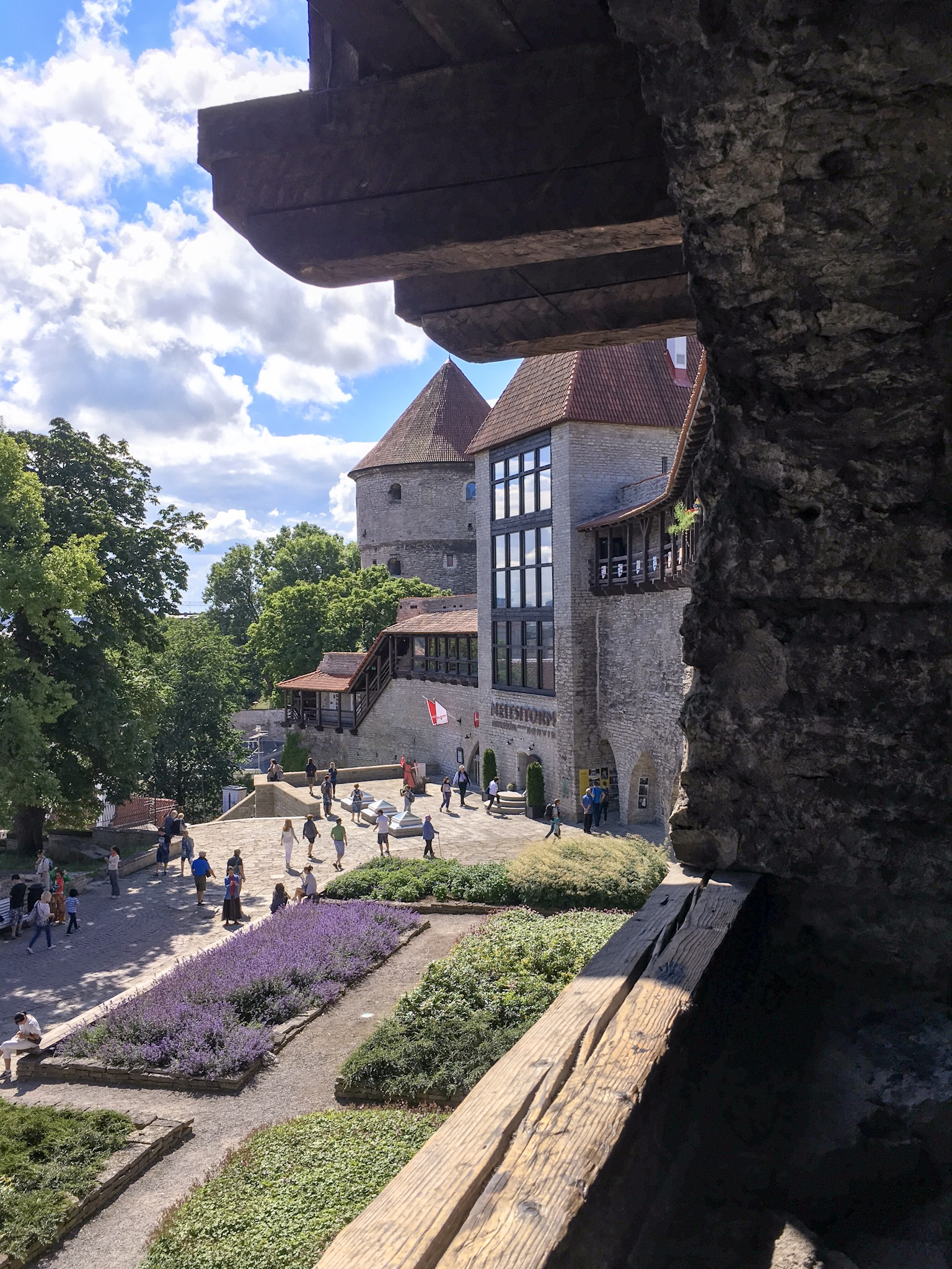 View from the medieval wall