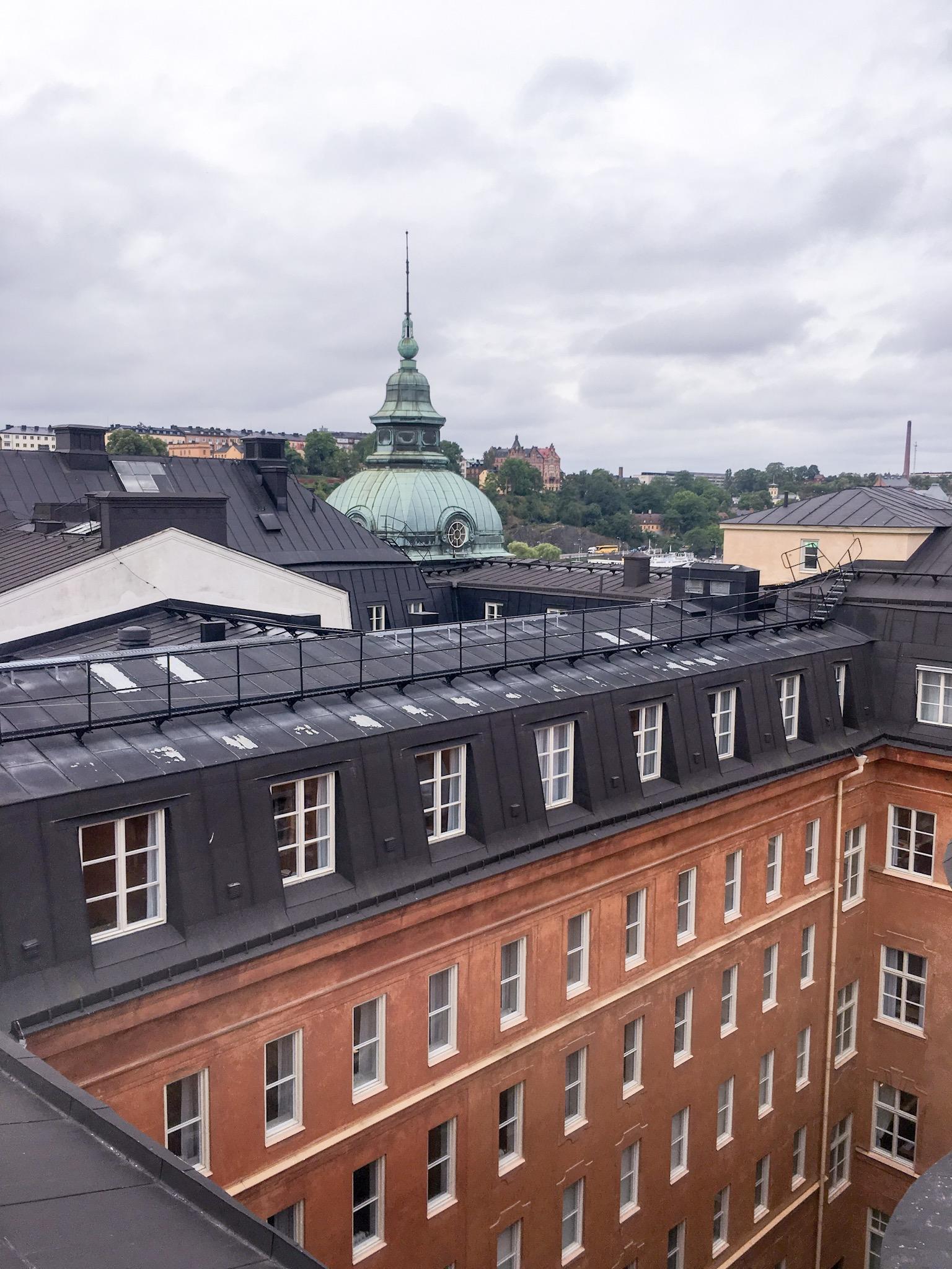 Rooftop walk Stockholm, Sweden