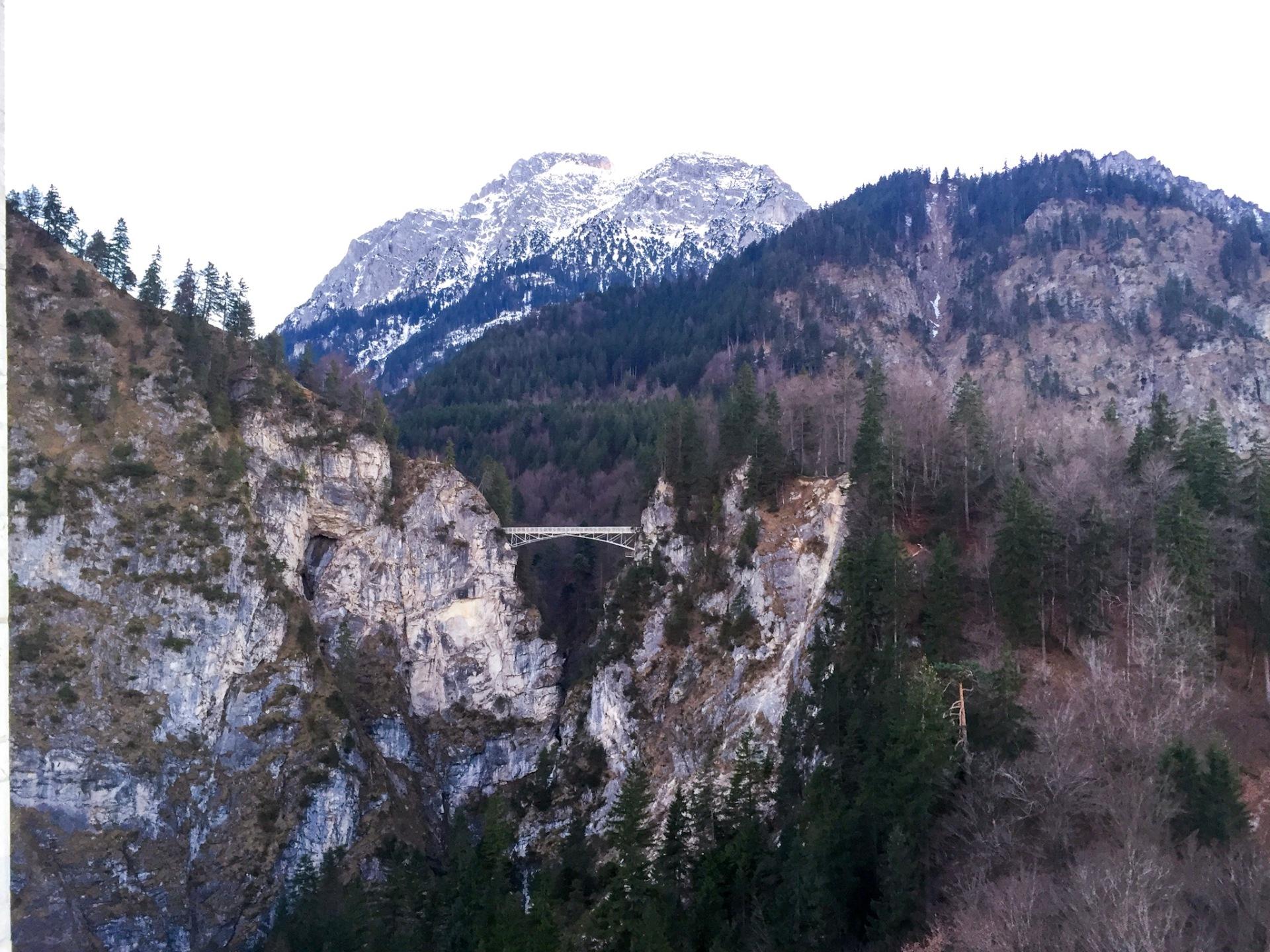 Fairytale bridge in Bavaria, Germany