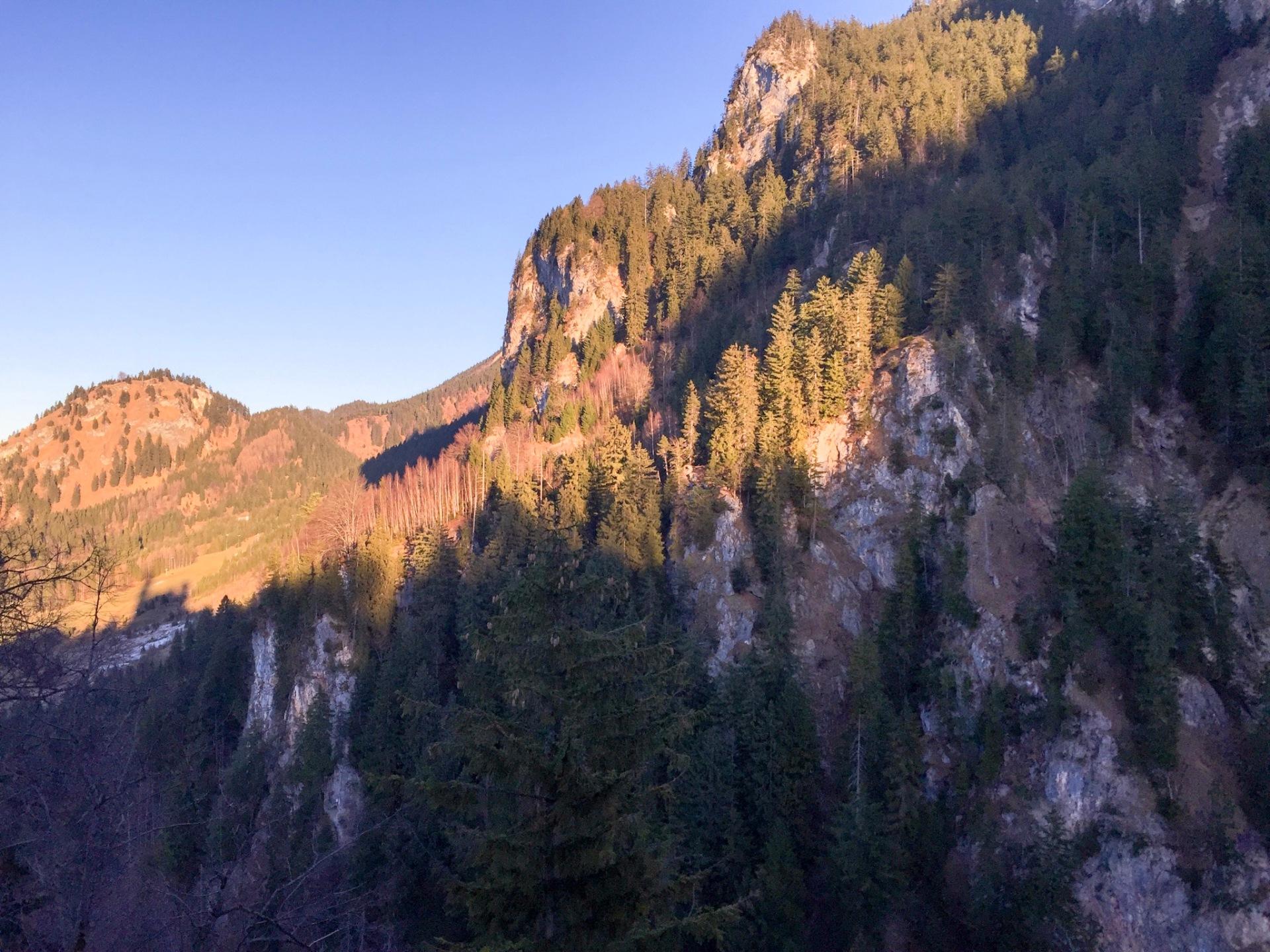 Bavarian mountains, Germany