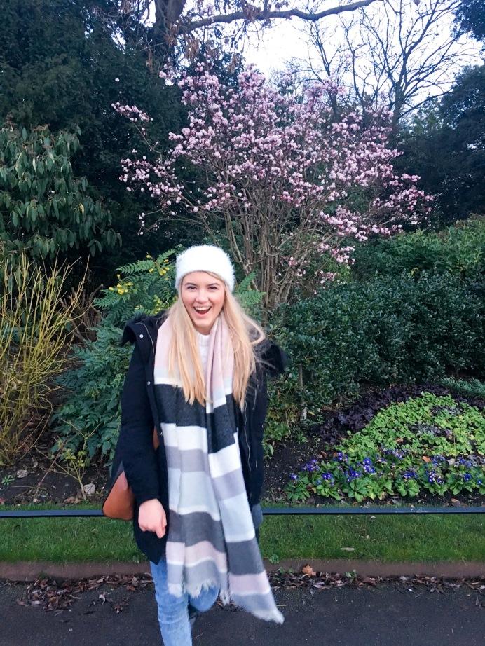 Winter blooms in Regent's Park, London