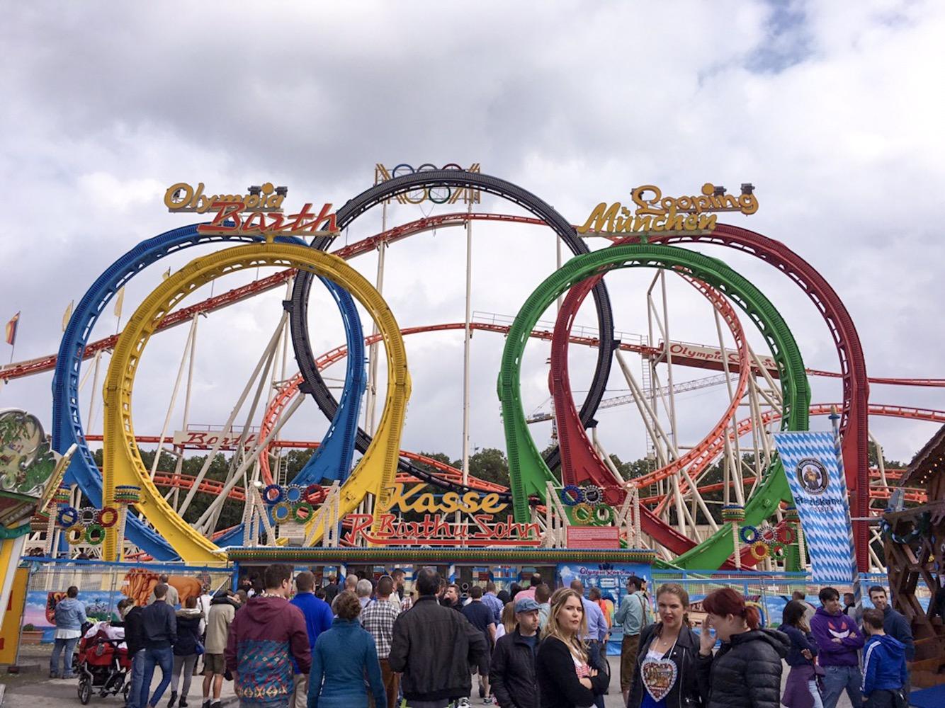 Rollercoaster at Oktoberfest
