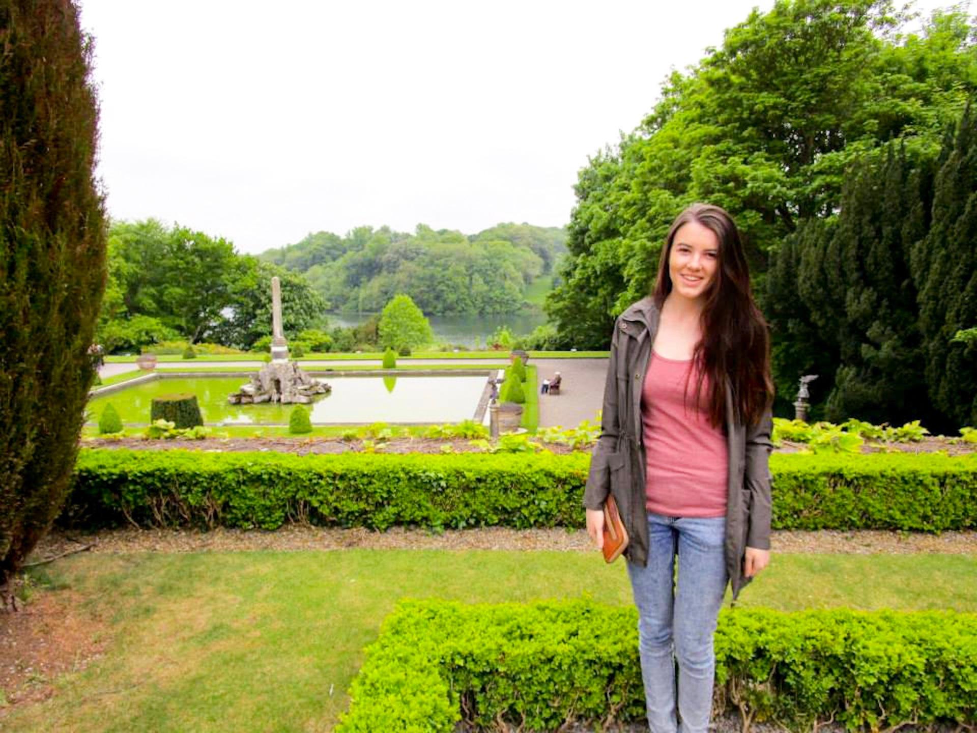 Gardens of Blenheim palace
