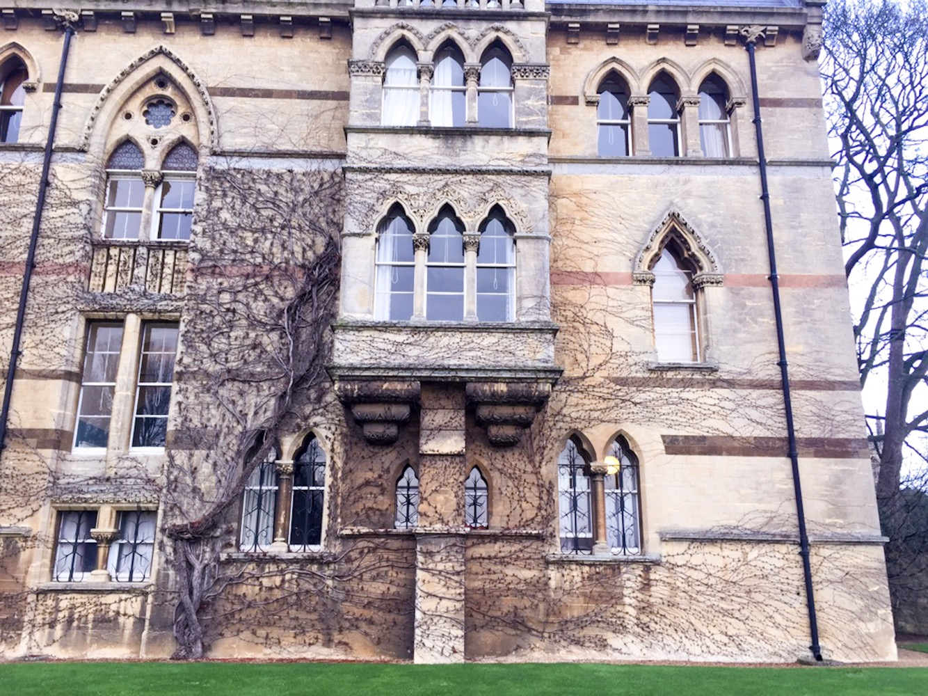 Old college buildings in Oxford