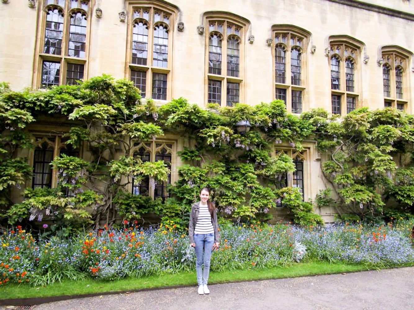 Pretty gardens in Oxford