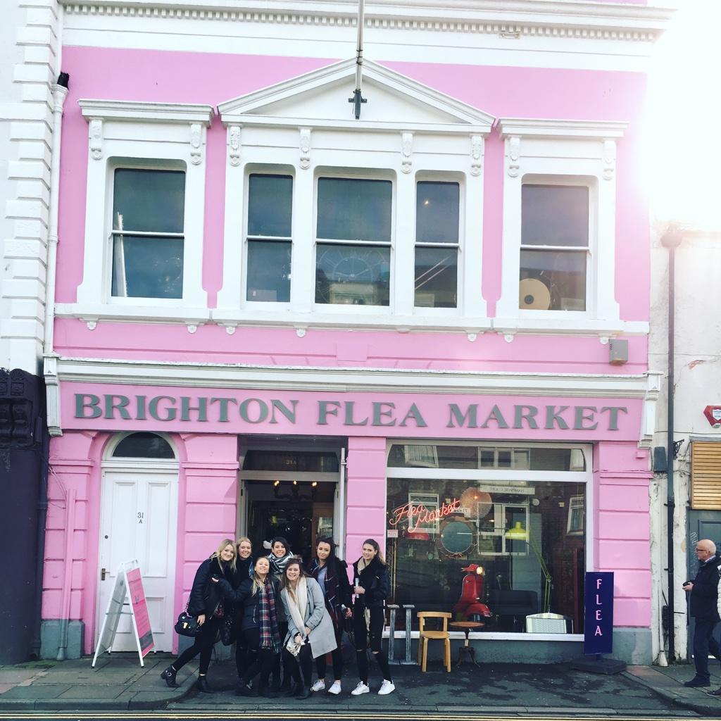 Brighton flea market