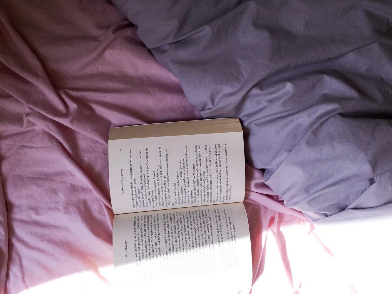 Reading a novel