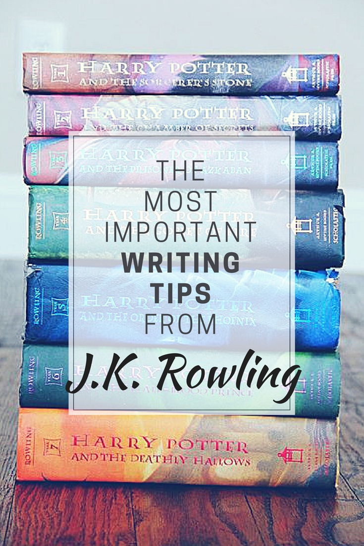 The most important writing tips from JK Rowling